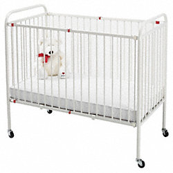 Crib, Capacity 50 lbs., 22 In.