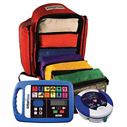 Backpack, 100 Person, OSHA, First Aid AED