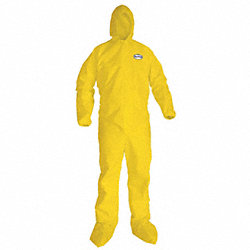 Hooded Polypropylene, Boots, XL, PK 12