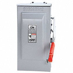 Safety Switch, NEMA 3R, 3W, 3P, 8x11x18.5