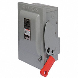 Safety Switch, NEMA 3R, 3W, 3P, 8x14.5x26
