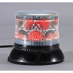 Dual Level Strobe Light, Red, Perm, LED