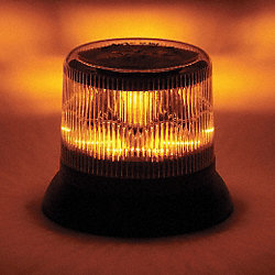 Dual Level Strobe, Amber, Permanent, LED