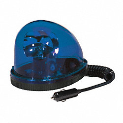 Strobe Light, Blue, Magnetic, Halogen