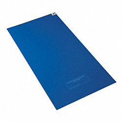 Tacky Mat, Blue, 24 x 36 In, PK4