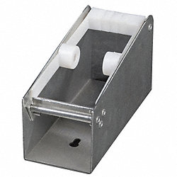Label Dispenser, Metal, Silver