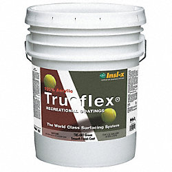 Tennis Court Paint, Smooth, Green, 5 gal.