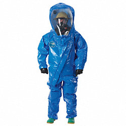 Encapsulated Suit, XL, Blue