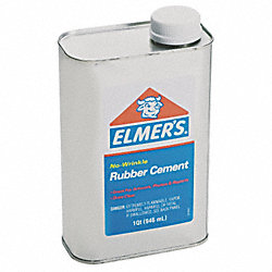 Adhesive, Rubber Cement, 1qt.