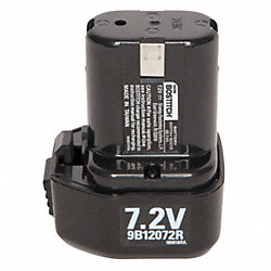 Battery Pack, 7.2V, NiCd, 1.4A/hr.