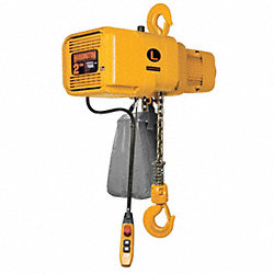 Electric Chain Hoist, 4000 lb., 14/2.5 fpm