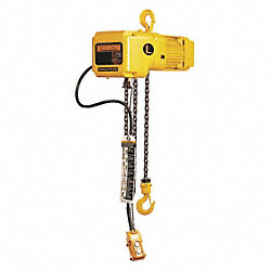 Electric Chain Hoist, 1000 lb., 7 fpm