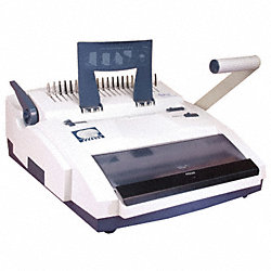 Binding Machine, Electric, Comb and Wire
