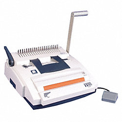 Binding Machine, Manual, Comb and Coil