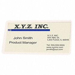Laminating Pouches, 2-1/4x3-3/4in, PK100