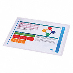 Heat Laminating Pouches, 9x11-1/2in, PK100