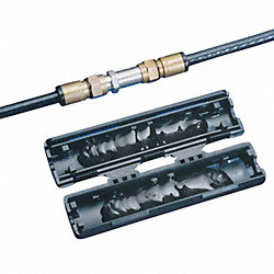 Coax Splice Kit, Series 7/11, 60V, Black
