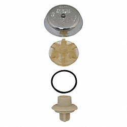Vacuum Breaker Assembly Kit, Plastic/Zinc