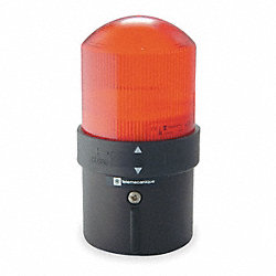 Warning Light, Strobe Tube, Red, 24VAC/DC