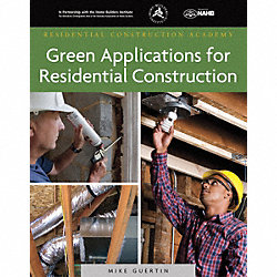 1 Ed, Green Appl, Residential Construction