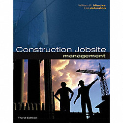 3rd Ed, Construction Jobsite Management