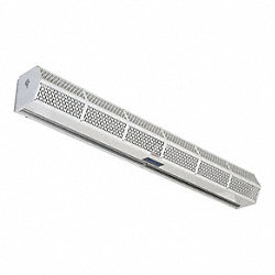 Low Profile Air Curtain, 8-1/4 In. H