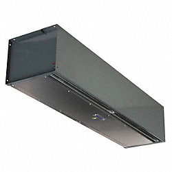 High Velocity Air Curtain, 18 In. D
