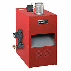 Gas Fired Boiler, NG/LP, 27 In. D, 32 In. H