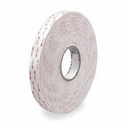 VHB Tape, 3/4 In x 216 ft., White