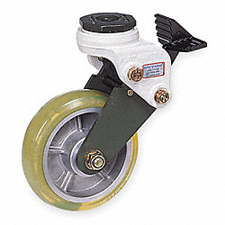 Swivel Stem Shock-Absorbing Caster