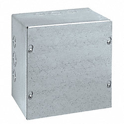 Enclosure, NEMA 1, 16 Ga, 6x6x4 In