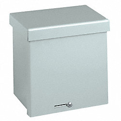 Enclosure, NEMA 3R, 16 Ga, 6x6x4 In