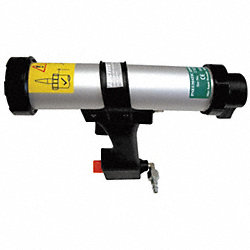 Pneumatic Caulk Gun, 300mL, Aluminum