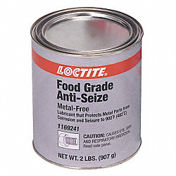Anti-Seize, Food Grade, 2 lb Can