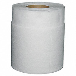 Paper Towel, White, 46 ft. L, PK 12