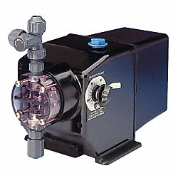 Diaphragm Metering Pump, 60 GPD, 125 PSI