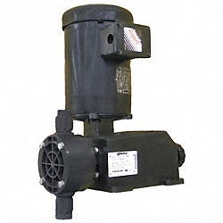 Diaphragm Metering Pump, 775 GPD, 75 PSI
