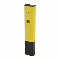 pH Tester, 0-14 Range, For Use W/6KYV8