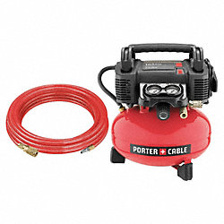 Air Compressor, 0.8 HP, 120V, 165 psi