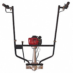 Power Screed Head, Honda GX35, 1.6HP