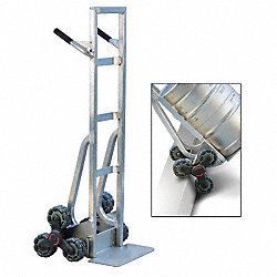 Stair-Climber Hand Truck, Barrel Back