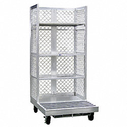 Forklift Order Picking Cart, Al, 12 In H