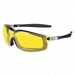 Safety Glasses, Amber, Antifog