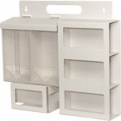 Multi Use Dispenser, 19-11/16 In. H, Clear
