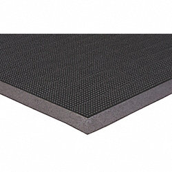 Entrance Mat, Heavy-Traffic, Rubber, Black,