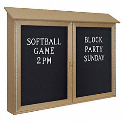 Enclosed Bulletin Board, Letter, 30