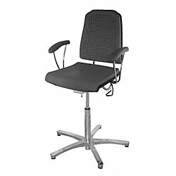 Task Chair, 300 lb., Black