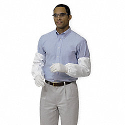 Disposable Sleeves, 18 In. L, White, PK 200