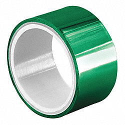 Metalized Poly Tape, 3/8 in. x 5yd., Green