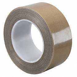 Cloth Tape, 12 In x 36 yd, 8.2 mil, Brown